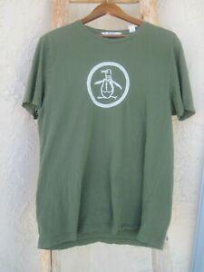 Details about PENGUIN brand logo Green Men\'s XL T.