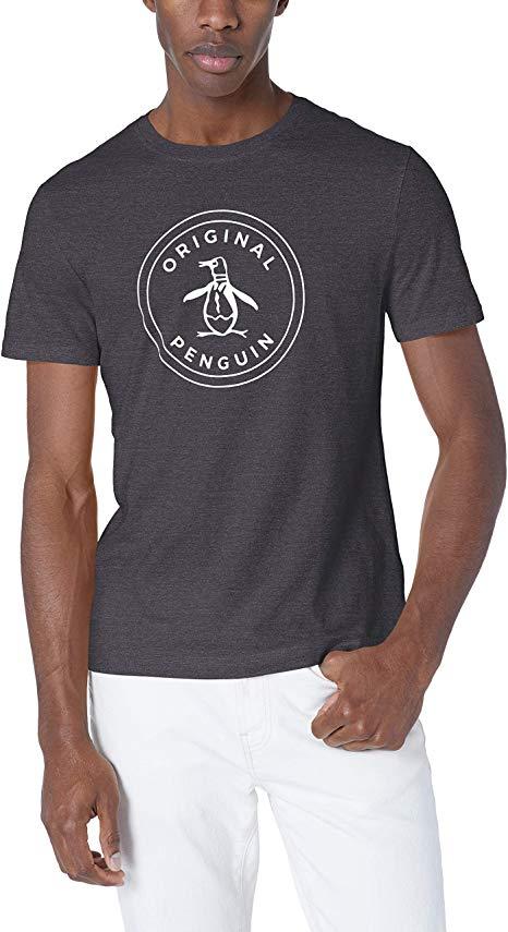 Original Penguin Men\'s Short Sleeve Circle Logo Tee.