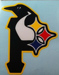 Details about STEELERS, PIRATES, PENGUINS vinyl decal.