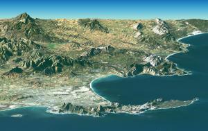 Cape Of Good Hope Peninsula Clip Art Download.