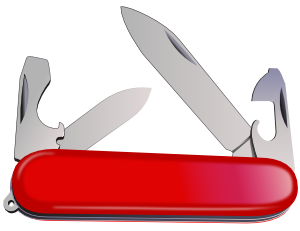 Swiss Army Knife Clip Art at Clker.com.