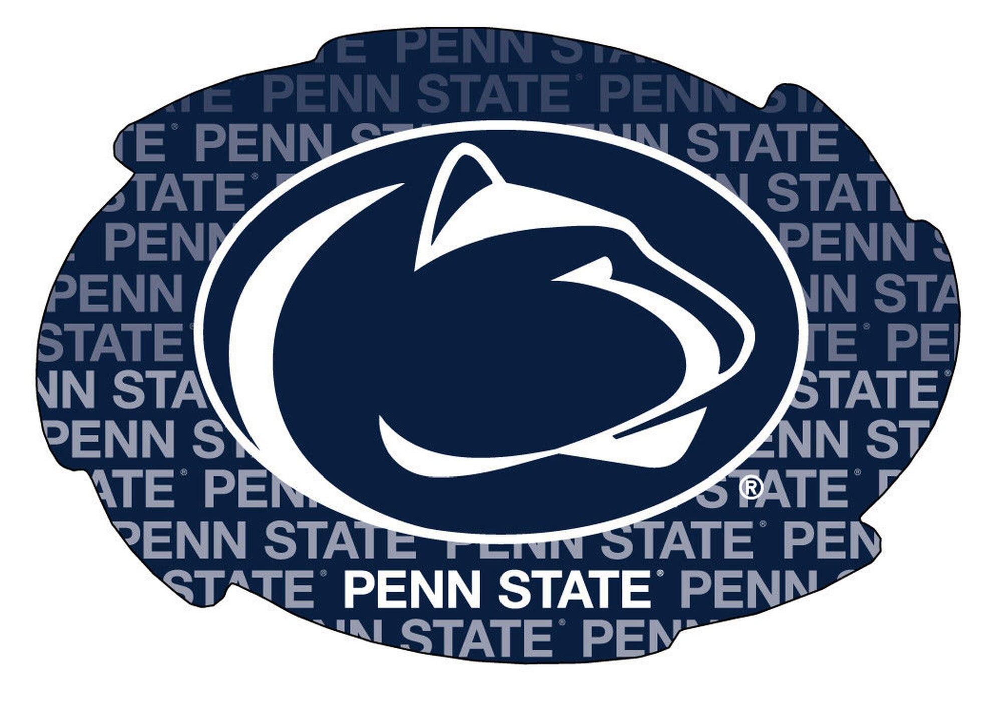Penn State Swirl Magnet.