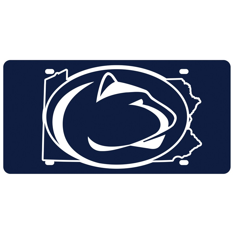 Penn State Nittany Lions State Pride License Plate.