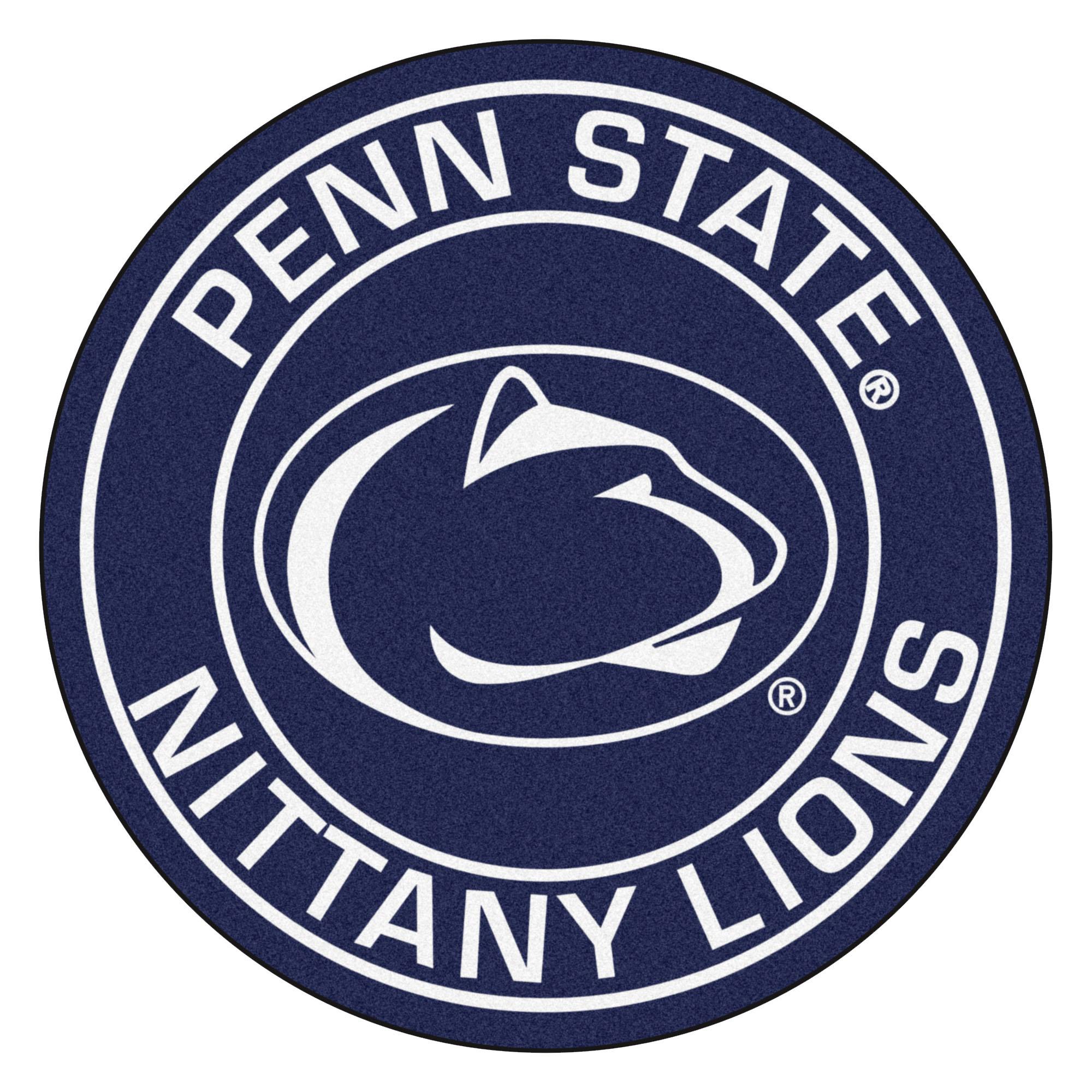 Penn State Nittany Lions Logo Roundel Mat.