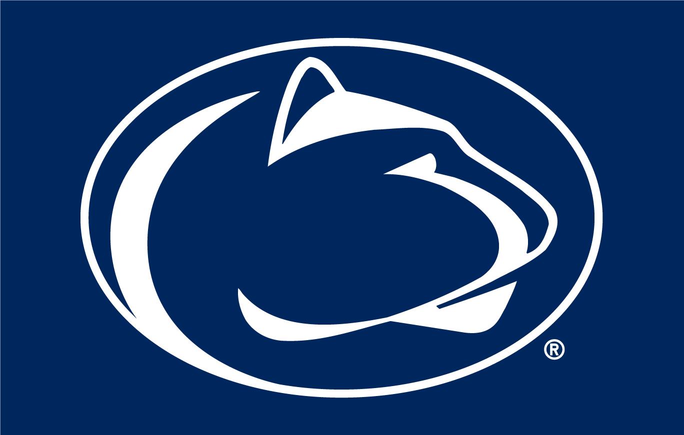 Penn State Nittany Lions Primary Dark Logo.