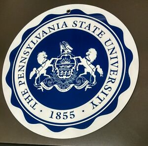 Details about Penn State University Pennsylvania logo sign .. crest insignia.
