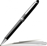 Pen Writing Clipart.