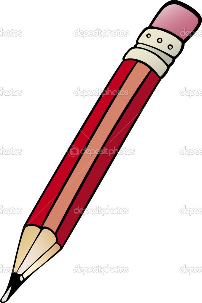 Penna clip art tecknad bild — Stock Vektor © izakowski #29887319.
