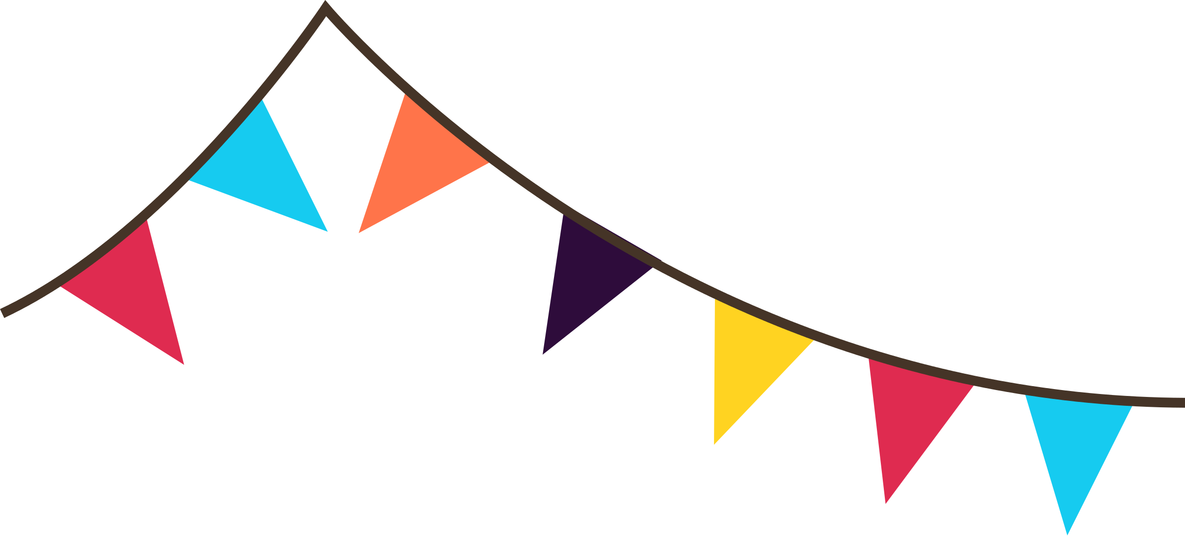 Pennant Banner Clipart Free.
