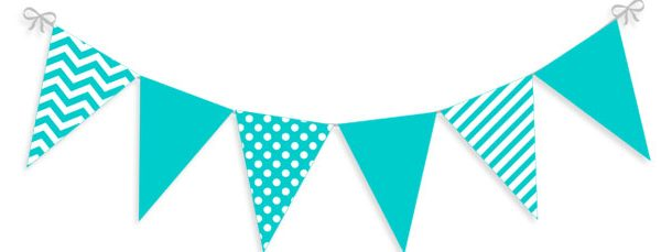 Pennant Banner Clipart.