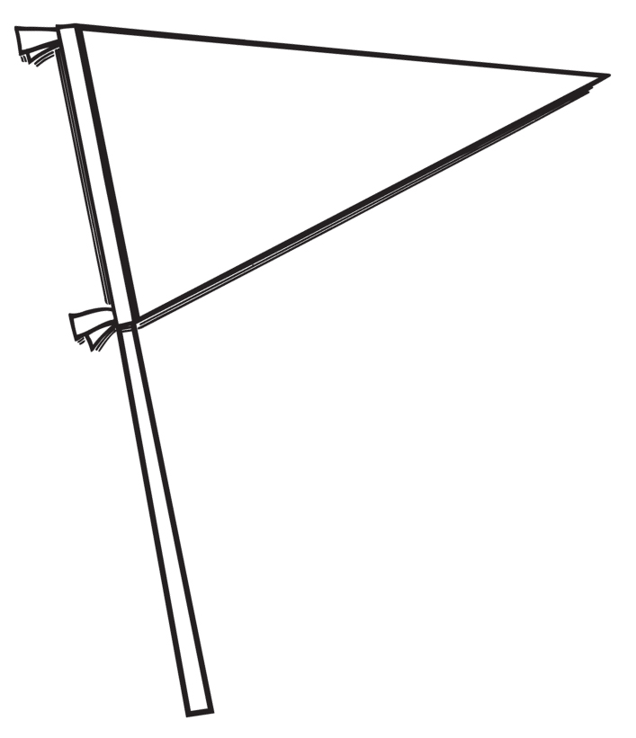 Sports Pennant Clipart.