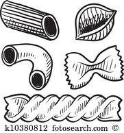 Penne Clip Art EPS Images. 229 penne clipart vector illustrations.