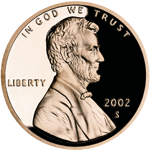 Free Of Pennies Clipart.