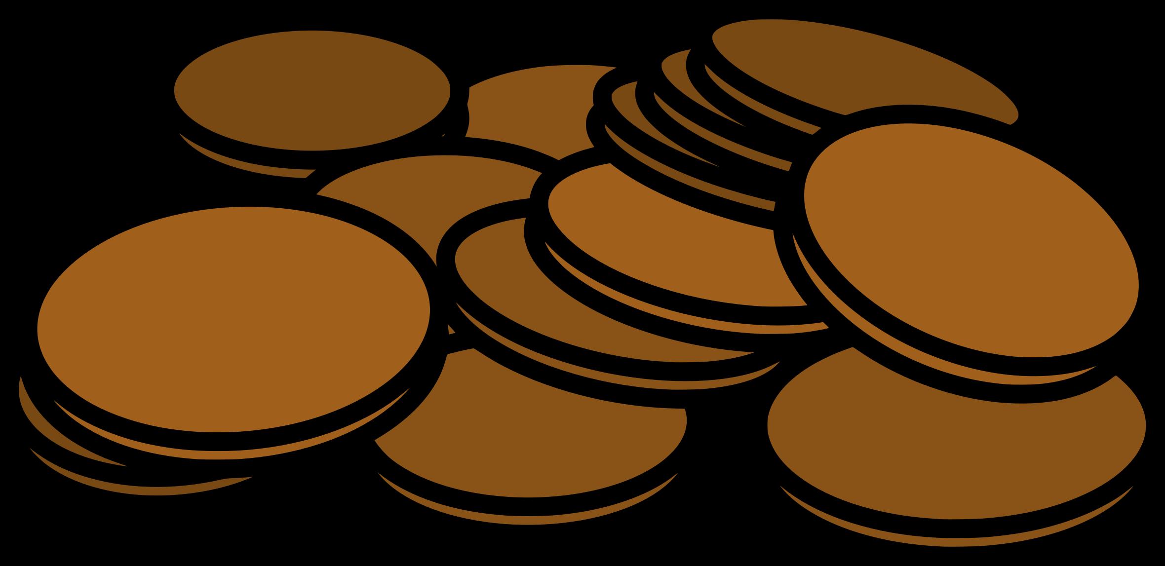 Pennies clip art.