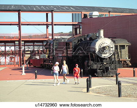 Stock Photography of Scranton, PA, Pennsylvania, Steamtown.