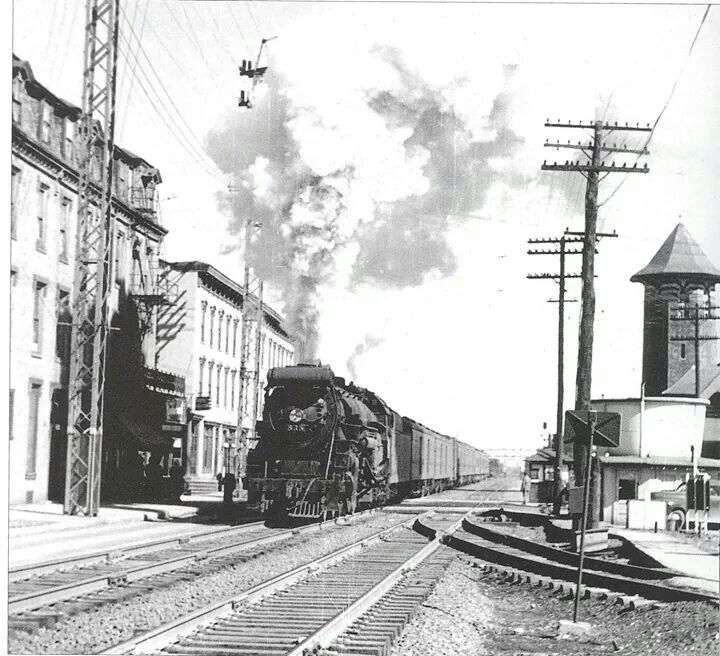 X Old Pennsylvania Railroad Station.