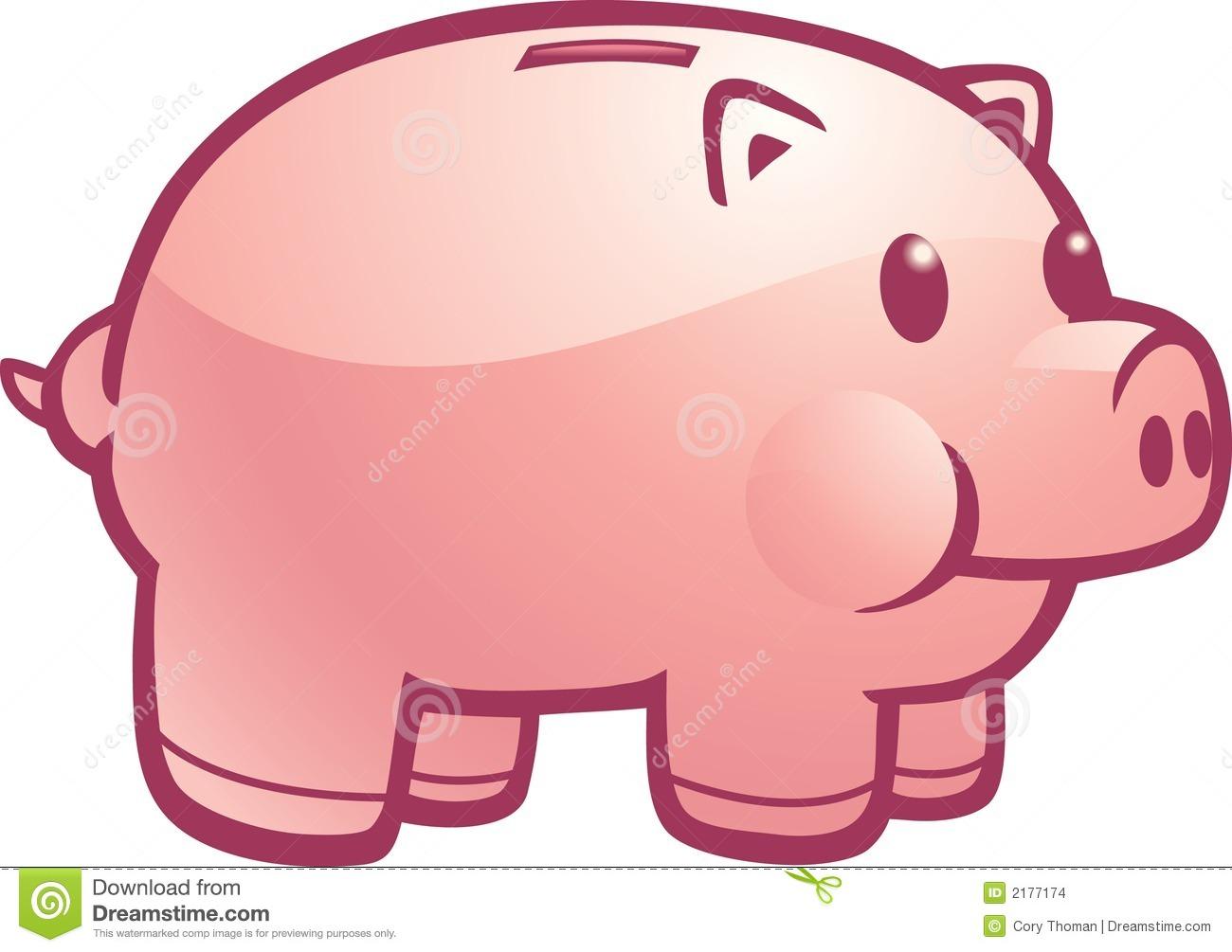 Clipart cute piggy bank.
