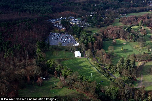 England have set up camp at the luxury Pennyhill Park, but where.