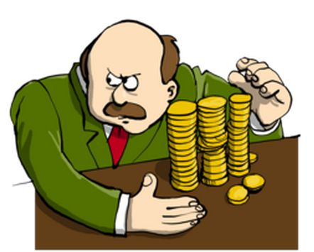 Penny Pincher Clipart.