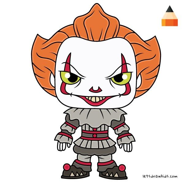 Pennywise Cartoon in 2019.