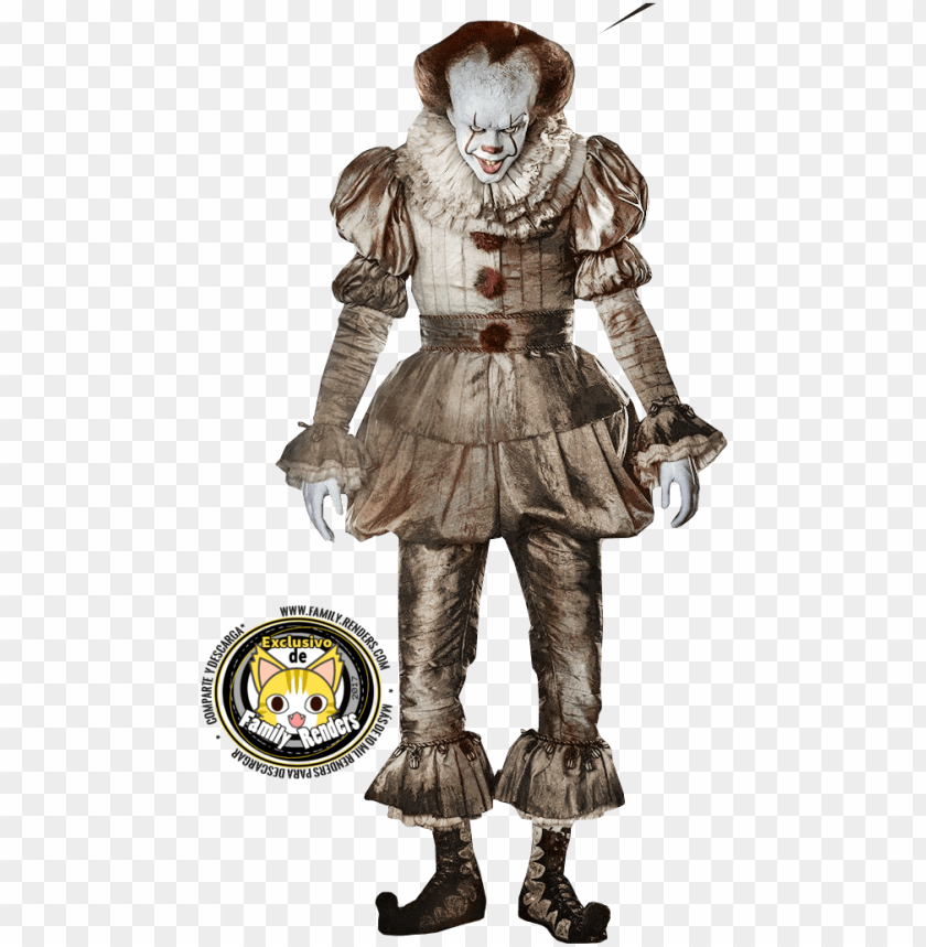 Pennywise 2017 download free clipart with a transparent.