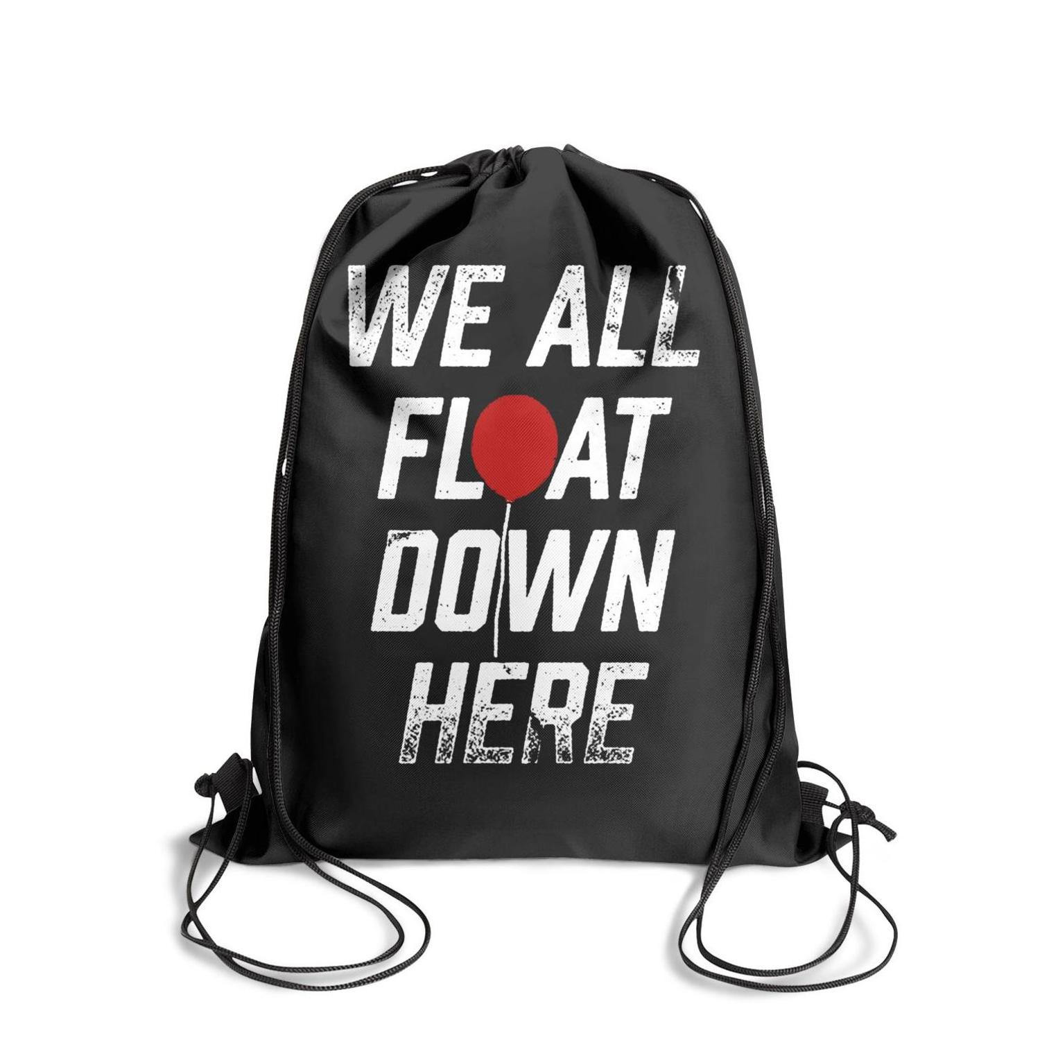 Drawstring Sports Backpack Pennywise logo Popular Daily Pull String Pull  String Backpack.