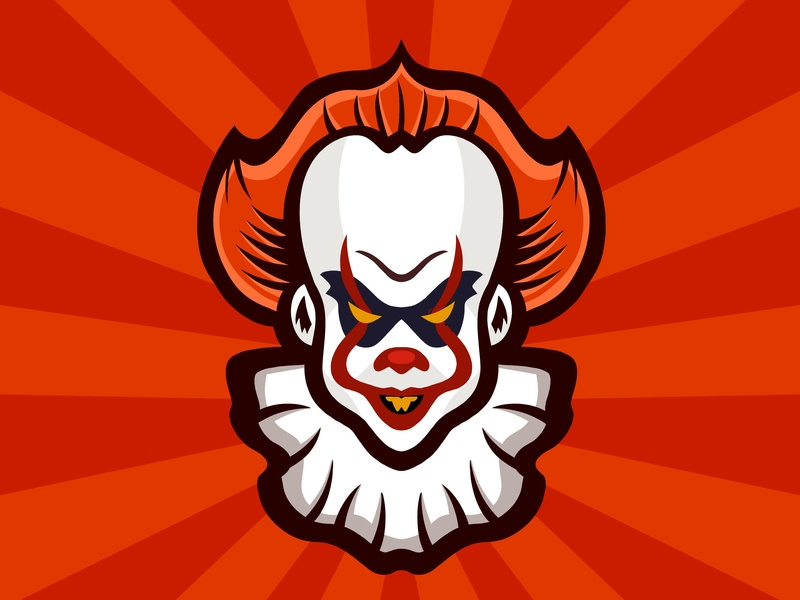 Pennywise Logo by Nicole Wilson on Dribbble.