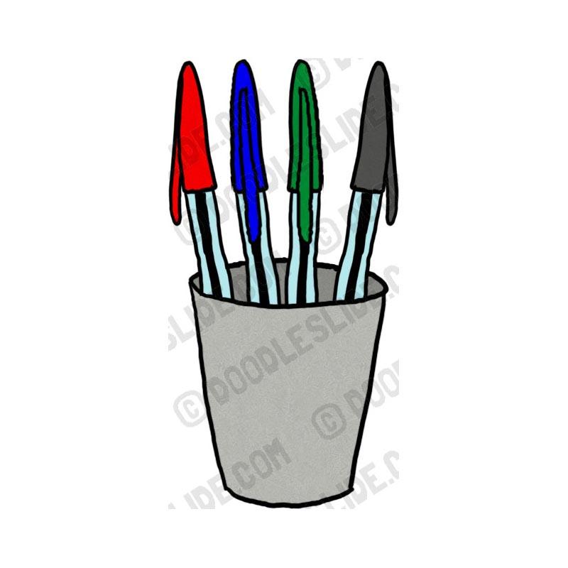 Clip Art Pens.