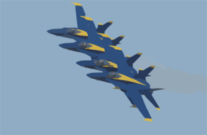 The Navy S Blue Angels Flight Demonstration Team Maintains A Tight.