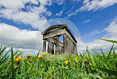 Penshaw Monument Stock Photo.
