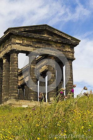 Penshaw Monument Landscape Stock Photos.