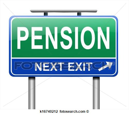 Pension Clipart.