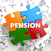Pension fund clipart.
