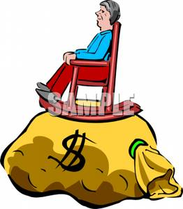 Pension Clipart.