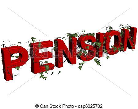 Pension Clip Art.