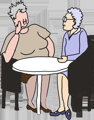 Pensioner Clipart.