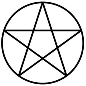 Pentagrams and Pentacles.