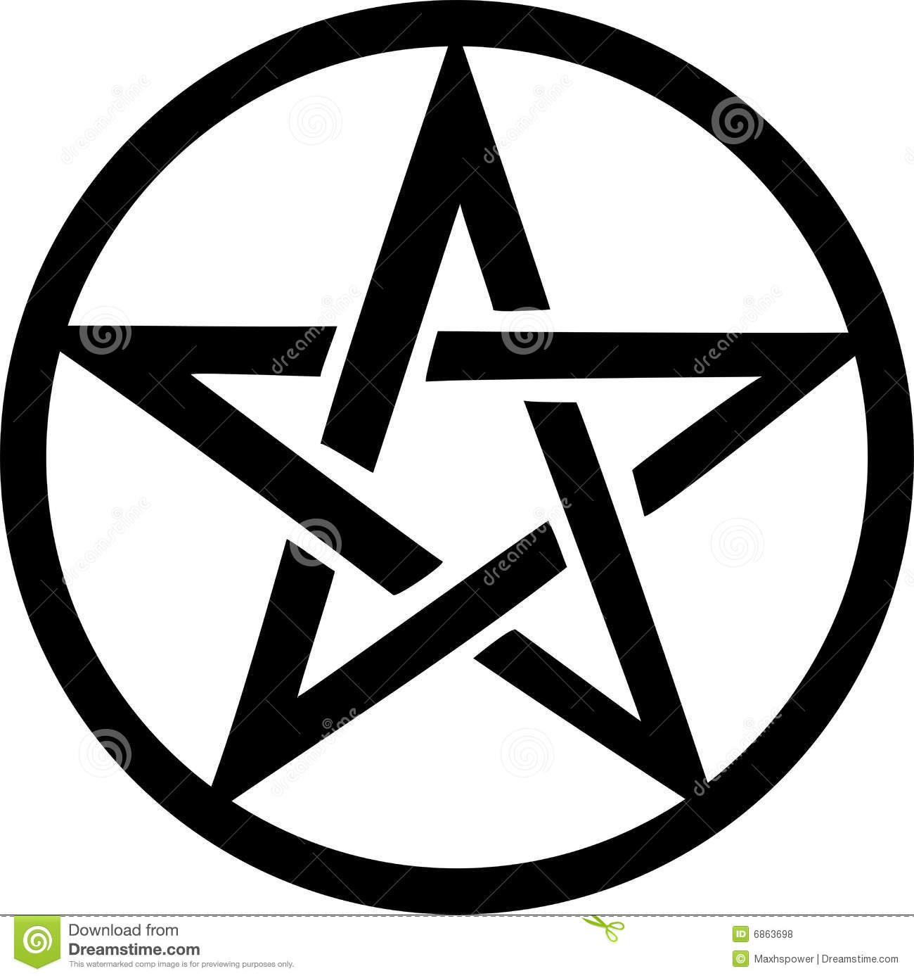 Pentacle Stock Illustrations.