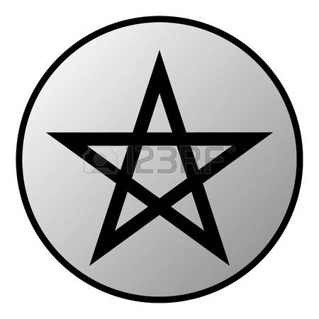 546 Pentacle Stock Vector Illustration And Royalty Free Pentacle.