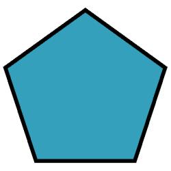 Pentagon Shape.
