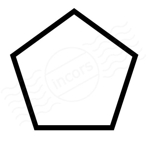 Clipart Pentagon Shape.
