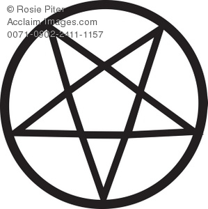 Pentagram Symbol Royalty.