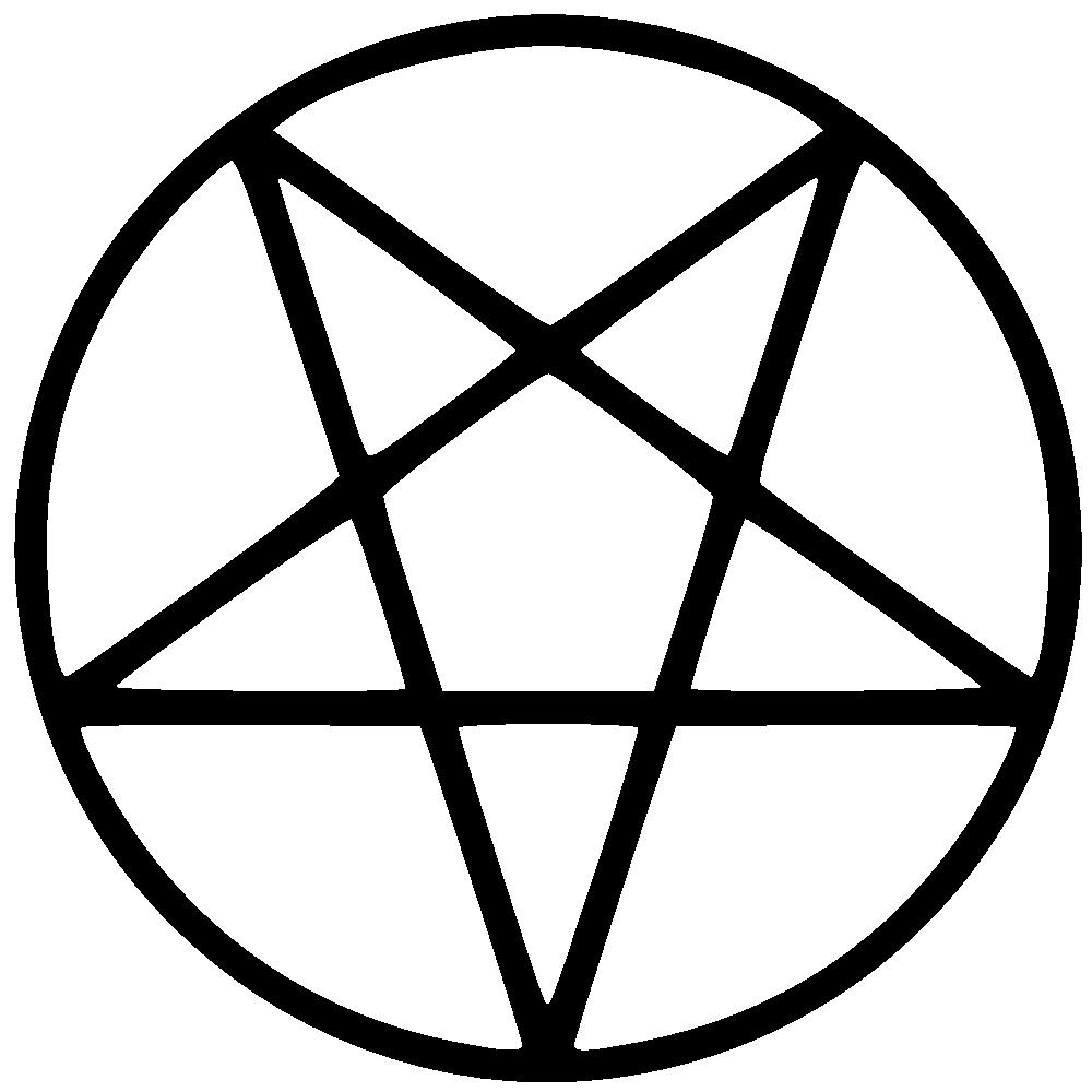 Pentagram clip art.