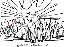 Pentecost Clip Art.