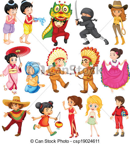 People around the world Clipart and Stock Illustrations. 1,859.