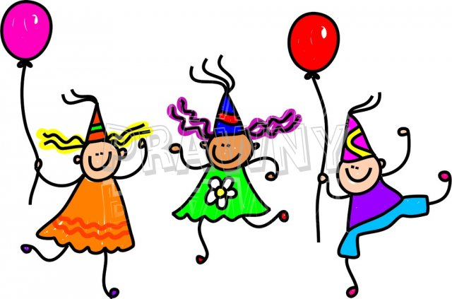 Birthday Party Clip Art.