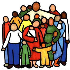 Printable People Clipart Church.