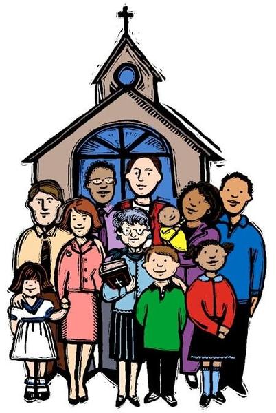 Church Congregation Clipart.