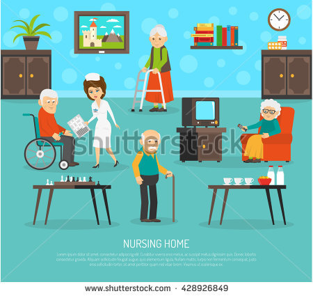Nursing Home Stock Images, Royalty.
