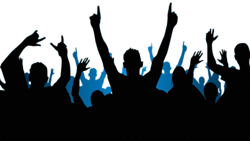Crowd clipart party, Crowd party Transparent FREE for.